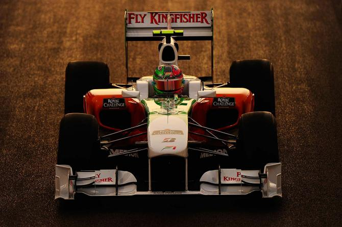 Force India, Vitantonio Liuzzi