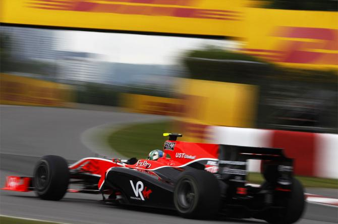 Virgin, Lucas di Grassi
